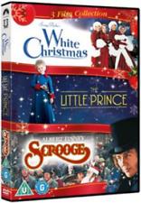 Bob Fosse, Gene Wilder-White Christmas/The Little Prince/Scrooge DVD NEW