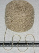 100g ball Cream Oatmeal Tweed 100% pure British wool double knitting yarn dk