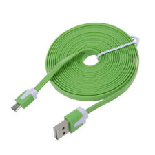 Sync Data Cable Cord for Samsung Galaxy S4 HTC FM 3m Flat Mini USB Charger O6O1