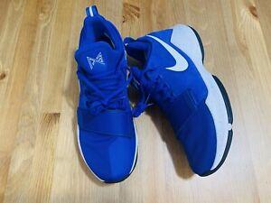 Nike zoom PG1 Baseline Paul George athletic shoes blue 878627-400 NWOB sz 8