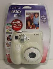 Fujifilm Instax MINI 7s White Instant Film Camera w/ Bonus Film 10 Exposures