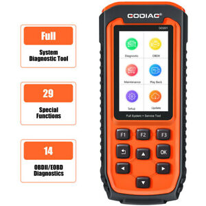 OBD2 All System Scanner All Makes Diagnostic Tool DPF ABS Airbag Oil Light Reset