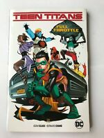 Teen Titans Volume 1 Full Throttle Softcover by Adam Glass -DC Graphic Novel Tpb