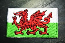 WALES Welsh Country Flag Embroidered PATCH Badge *NEW*