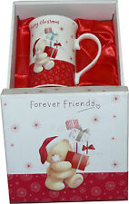 Lesser & Pavey Pottery Forever Friends Boxed - Happy Christmas - Gift Mug