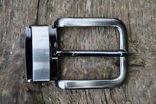 """Replacement Metal Belt Buckle TO FIT 35mm 1 3/8"""" BELT classic Clip On Buckle AJ"""