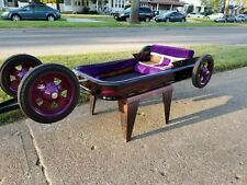 "'Grape Slushy""  Customized purple radio flyer wagon"