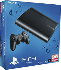 PlayStation 3 Konsolen mit WLAN-kompatible Spielekonsolen Super Slim