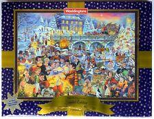 Waddingtons Ltd Edition 2003 1000pc Jigsaw Skating at Twilight on Christmas Eve