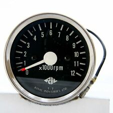 Mechanical Scooter Tachometer 12000 RPM by Royal Technologies - NOS