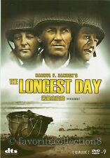 The Longest Day (1962) - John Wayne, Robert Ryan, Richard Burton - DVD NEW