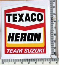 Texaco Heron Team Suzuki sticker      A18
