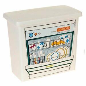 ORION Aufbewahrungsbox Waschmittelbox für Waschkapseln Waschpulver Spülmaschinen