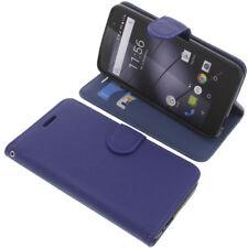 Tasche für Gigaset GS160 / GS170 Book-Style Schutz Hülle Handytasche Buch Blau