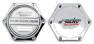 Insurance Holder Chrome-Plated By Simoni Racing Pbsr / X Tax Holder