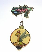 Le Disney Pin✿Tinker Bell Tink Mickey Very Merry Christmas Party Ornament Dangle