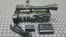 Cannon XH A1 HD video camera with accessories