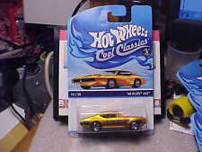 Hot Wheels Cool Classics '68 Olds 442 on Orange Car Card