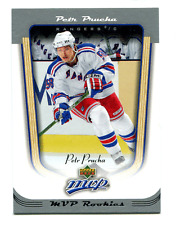 2005-06 UD MVP Petr Prucha RC #419 Rangers