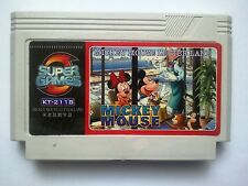 Mickey's safari in Letterland - Rare Famicom Famiclone Nes Cartridge