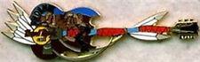 Hard Rock Cafe PHOENIX 2002 Spear GUITAR Feathers & KOKOPELLI PIN - HRC #14731