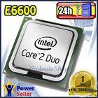 Intel Pentium Dual Core E6600 3.06Ghz CPU Procesador socket LGA 775 - Impecable