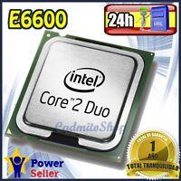 Intel Pentium Dual Core E6600 2.4Ghz CPU Procesador socket LGA 775 - Impecable