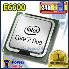 Intel Pentium Dual Core E6600 2.4Ghz CPU Procesador socket LGA 775 - Impecable