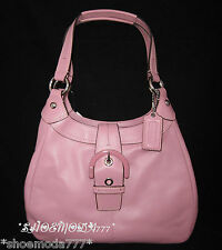 $358 COACH Soho Leather Medium Hobo Bag Purse Handbag Sac Blush Pink New 17219