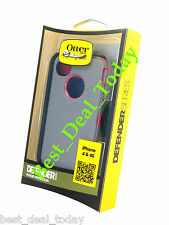 OTTERBOX RUGGED DEFENDER CASE/ HOLSTER FOR APPLE iPHONE 4S 4 PINK GREY