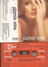 MINA musicassetta originale 1976 MC K7 PLURALE MINA Made in Italy