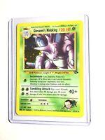 Giovanni's Nidoking - 7/132 - Gym Challenge - Holo - Pokemon Card - EXC/NM