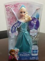 "DISNEY FROZEN 12"" SINGING ELSA DOLL SINGS ""LET IT GO"" MATTEL CHW87 NEW!"
