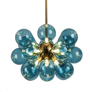 Modern Glass Pendant Chandelier Light Party Ceiling Lamp Bubble Hanging Fixtures