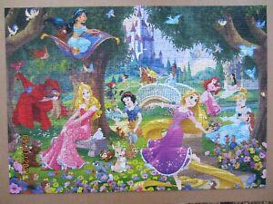 KING Disney Princess 1000 piece jigsaw puzzle lovely colourful Princesses