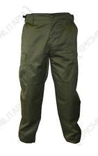 Pantaloni da uomo Verde in poliestere