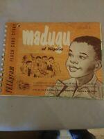 Child Evangelism Fellowship Madugu of Nigeria Flash Card Story-1959