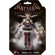 DC Comics Harley Quinn Arkham Knight 14cm Bendable Figure - DC 3954