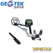 Metal Detector Teknetics Eurotek + Pinpointer Fisher