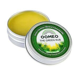 Green Rub Arnica Comfrey muscle joint balm cream not gel 30ml OOMEO