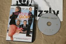 USED Morning Glory DVD (NTSC) Tested and Working