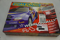 Used - Scalextric World Rally Slot Car Set