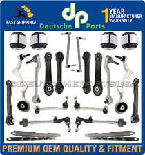 FRONT + REAR CONTROL ARM BALL JOINT SWAY BAR TIE RODS for BMW E90 E91 E92 KIT 22