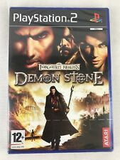 PS2 Forgotten Realms Demon Stone (2004), UK Pal, New & Sony Factory Sealed