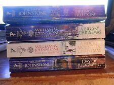 USED Lot of PB Books by William W. Johnstone/LISTED/ LOT #3