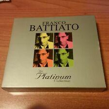 3CD FRANCO BATTIATO THE PLATINUM COLLECTION EDITORIALE