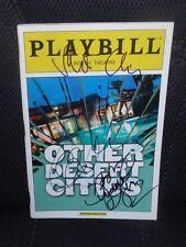 Other Desert Cities Autograph Playbill - Stockard Channing Judith Light + 1