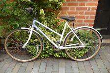 Fahrrad Damen Raleigh Pioneer Shimano 5 Geschwindigkeit Gänge Weimann Bremsen weiß/blau