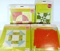 Accuquilt GO! Fabric Cutting Dies Many Patterns Available to Choose - New