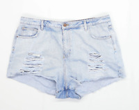 Womens Denim Co Blue Denim Shorts Size 20/L3